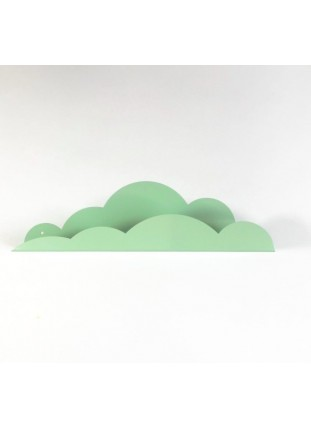Metal Cloud Shelf - Mint