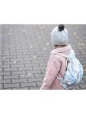 Dark Grey / Unicorn Sugar Bebe - Backpack