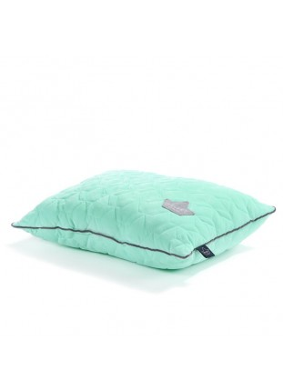 Bed Pillow Velvet - Mint
