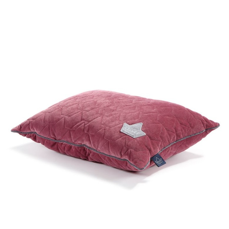 Bed Pillow Velvet - Mulberry