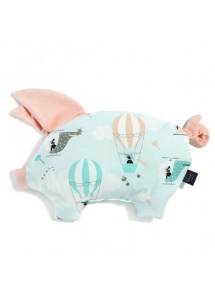 Sleepy Pig Velvet - Miss Cloudy / Powder Pink