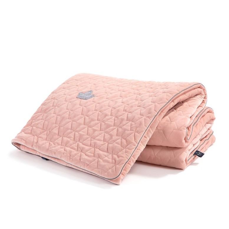 "Blanket ""XL"" Velvet - Powder Pink"