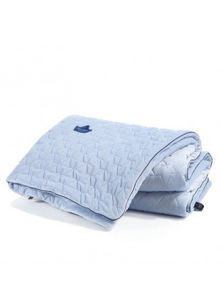 "Blanket ""XL"" Velvet - Powder Blue"