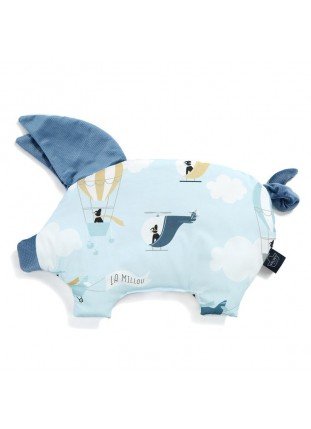 Sleepy Pig Velvet - Captain Adventure / Denim