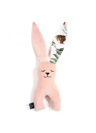 Long-Eared Bunny Velvet - Powder Pink / Wild Blossom