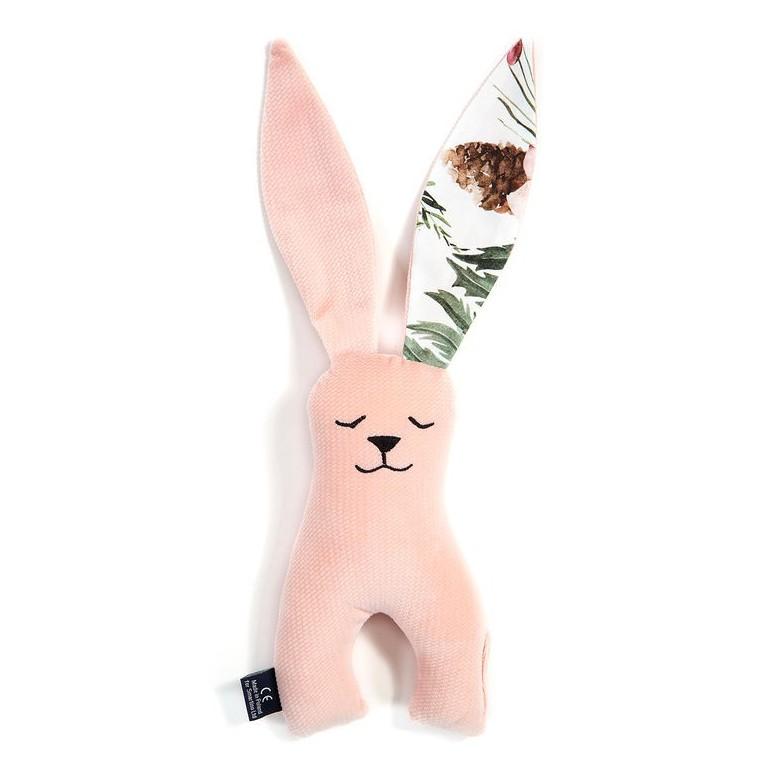 Long-Eared Bunny Velvet - Powder Pink / Wild Blossom