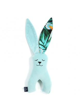 Long-Eared Bunny Velvet - Audrey Mint / Colibri