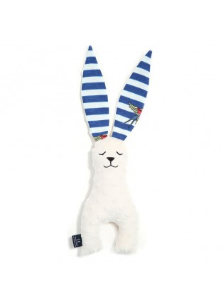 Long Eared Bunny - Barber Sailo Strips / Ecru