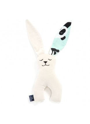 Long Eared Bunny Velvet - I Love Panda Mint / Rafaello
