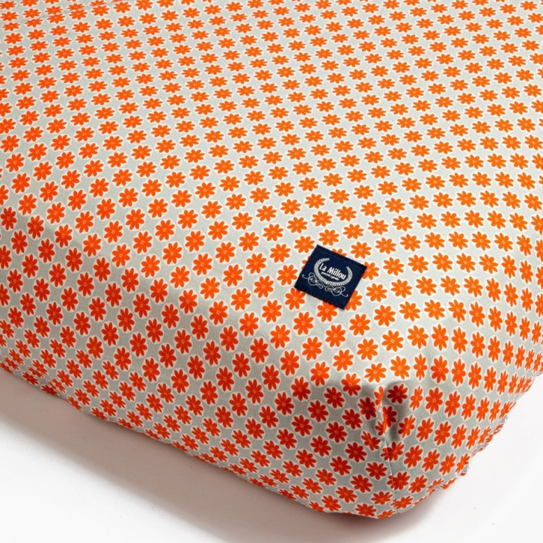 Boston Flowers - Bed Sheet size M
