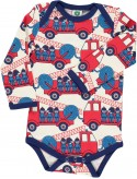 Long Sleeved Body with firetrucks