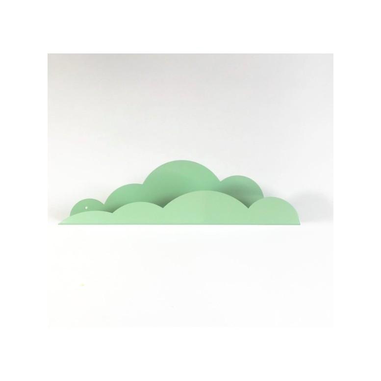 Metal Cloud Shelf - Mint