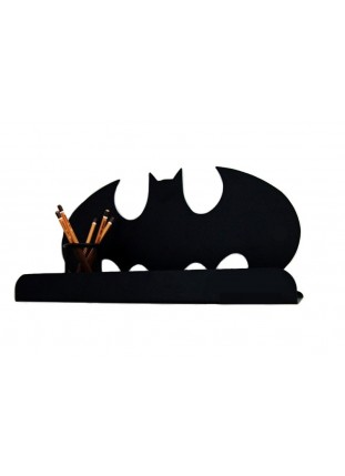 Metal Batman Shelf - Black