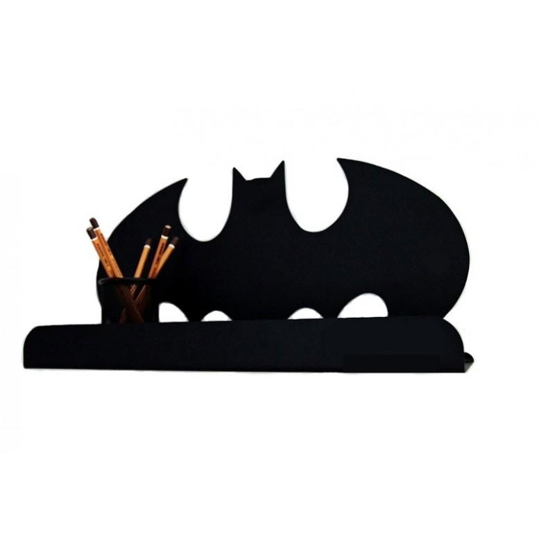 Metal Batman Shelf - Black