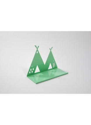 Metal Tipi Shelf - Mint