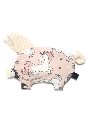 Unicorn Sugar Bebe / Ecru - Sleepy Pig Pillow