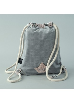 Dark Grey / Unicorn Sugar Bebe - Backpack