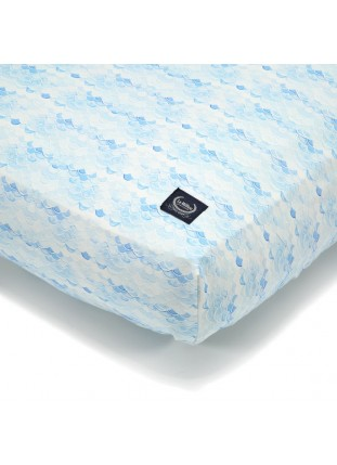 "Bed Sheet ""M"" - Moby Waves"