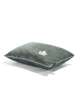 Bed Pillow Velvet - Khaki