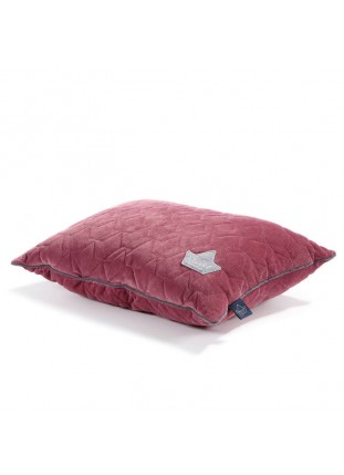 Bed Pillow Velvet - Mulberry