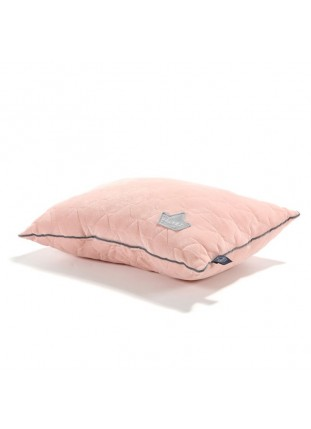 Bed Pillow Velvet - Powder Pink