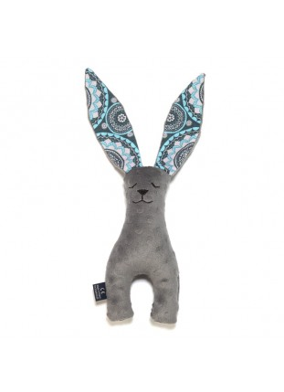 Long-Eared Bunny - Grey / Mosaic