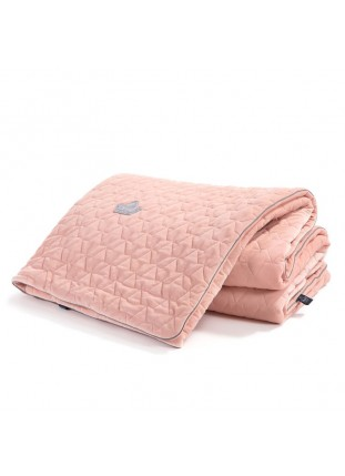 "Blanket ""XL"" Velvet - Powder Pink"