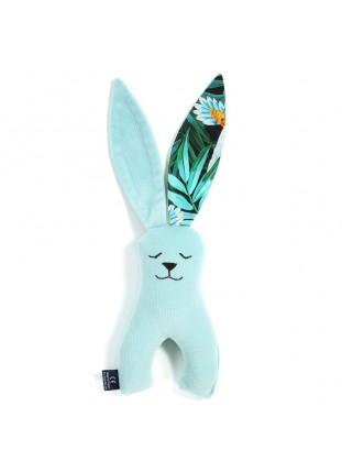 Long-Eared Bunny Velvet - Audrey Mint / Colibri