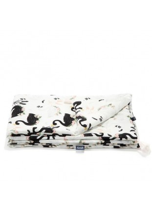 "Bamboo Bedding ""M"" - Moonlight Swan"