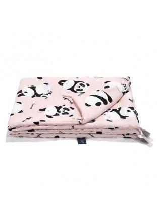 "Bamboo Bedding ""M"" - I Love Panda Pink"
