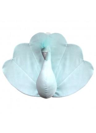 Peacock Velvet - Mint