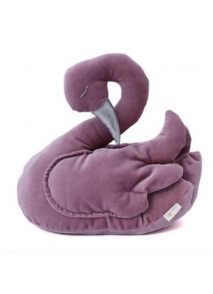 Swan Velvet - Dark Pink