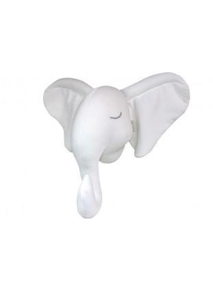 Elephant Velvet - White