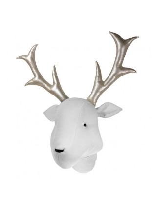 Reindeer Velvet - White