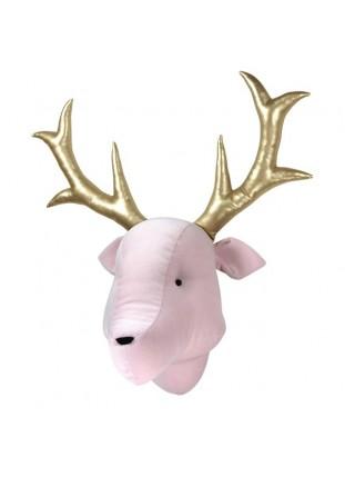 Reindeer Velvet - Pink