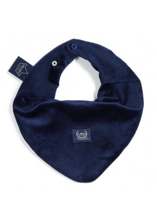 Bandana Bib Velvet - Royal Navy
