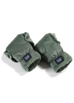 Hand Muff Gloves Aspen Velvet - Khaki