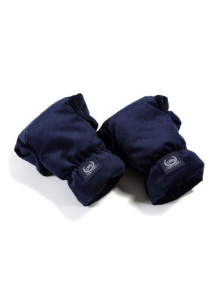 Hand Muff Gloves Aspen Velvet - Royal Navy