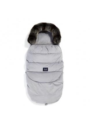 Stroller Bag Aspen Velvet - Grey