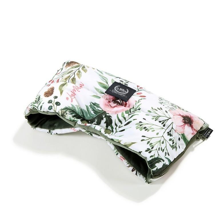 Hand Muff Aspen - Wild Blossom / Khaki