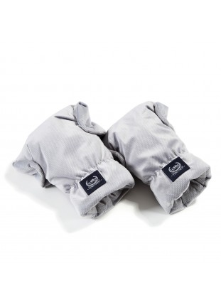 Hand Muff Gloves Aspen Velvet - Dark Grey