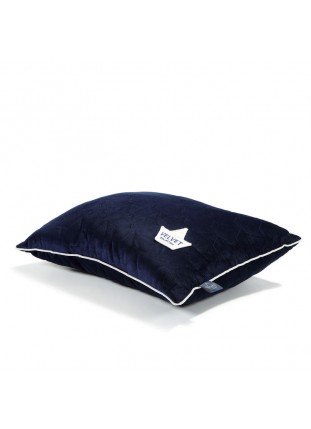 Bed Pillow Velvet - Royal Navy