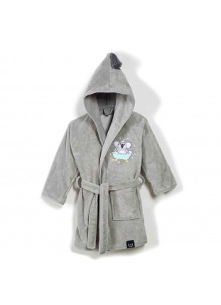 Bathrobe Bamboo Soft - Grey...