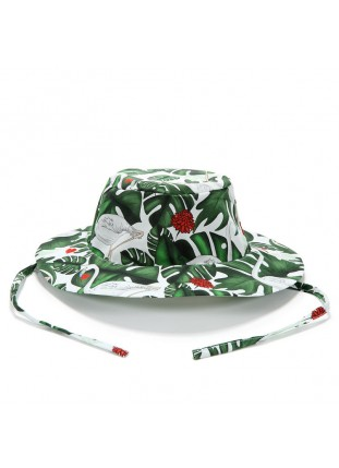 Safari Hat - Evergreen Tiger