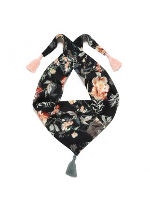 Bamboo Scarf - Blooming...