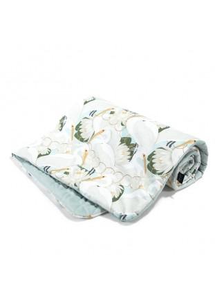 """Blanket """"L"""" Velvet - Heron..."""